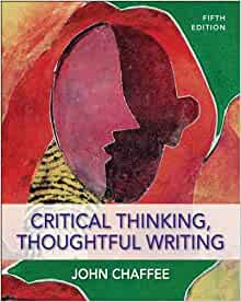critical thinking thoughtful writing 5th edition pdf