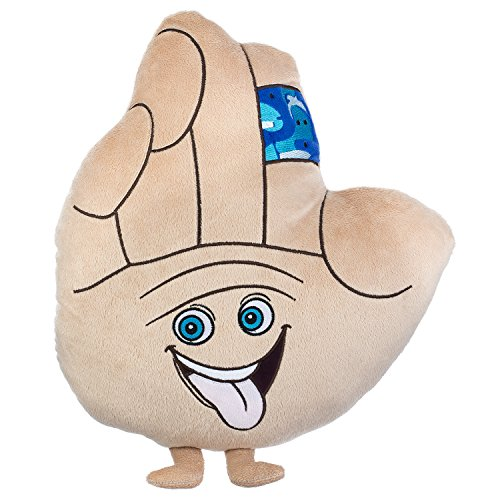 Price comparison product image Almar Soft and Cute Smiling High 5 Pillow with arms and legs