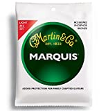Martin M2100 Marquis Phosphor Bronze Acoustic Strings, Light 3 Pack