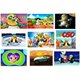 9 Special Agent Oso Stickers