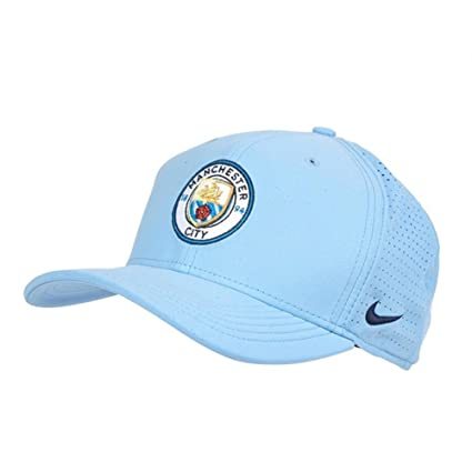 62f4a1652 Amazon.com : Nike 2018-2019 Man City Aerobill CLC99 Cap (Blue) : Sports &  Outdoors