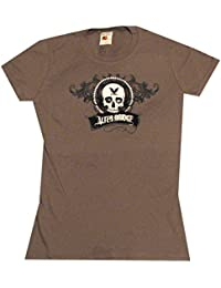 Alter Bridge Skull Juniors Tissue T-Shirt, Grey