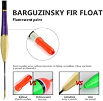 5 Pcs//Set Fishing Float Fluorescent Buoyance Bobber Stick Wooden Tackle Casting
