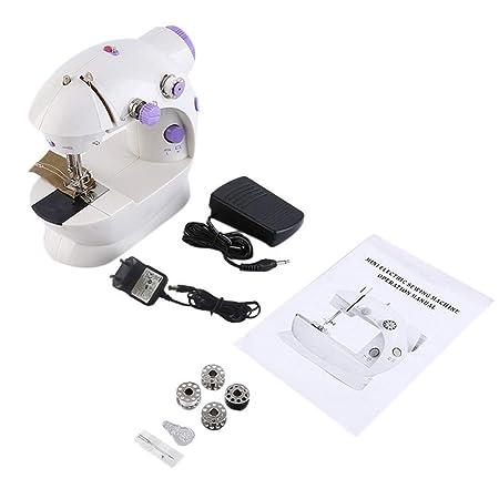 Máquina de coser doméstica portátil, máquina de coser eléctrica ...