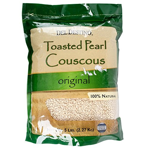 Israeli Toasted Pearl Couscous 5 lb. Bags - 4/Case By TableTop King by Table Top King