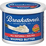BREAKSTONES BUTTER SALTED ALL NATURAL WHIPPED 8 OZ PACK OF 3