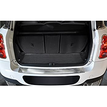 Rear Bumper Stainless Chrome Polished Steel Protector Trim Cover Guard For Mini Countryman R60 2011-Up
