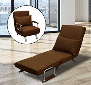 Amazon HOM Convertible Lounge Chair Sofa Bed