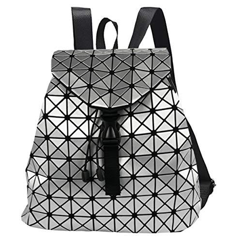[해외]여성용 배낭을 위한 캐주얼 데이팩기기하학적 가방 드로잉 배낭 팩 디자인 (화이트 솔리드 아쿠아 레 스몰) / Casual Daypacks for Women`s BackpackGeometric Bag Drawing Rucksack Pack Design (WHITE SOLID AQUARE SMALL)