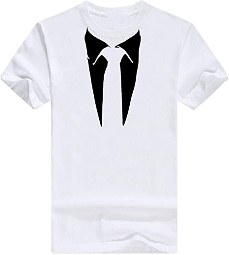 beautyjourney Camiseta de Manga Corta para Hombre con patrón de ...