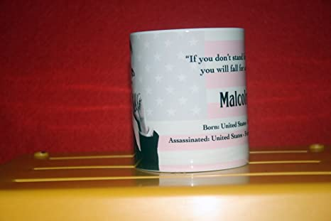 Amazon.com | Malcolm X - Collectors Mug: Coffee Cups & Mugs