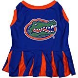 Pets First Collegiate Florida Gators Dog Cheerleader Dress - Small