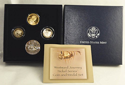 2005 S WESTWARD JOURNEY NICKEL SERIES COIN AND MEDAL SET PROOF ()