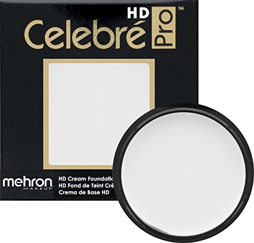 Mehron Makeup Celebre Pro-HD Cream Face & Body Makeup (.9 oz) (WHITE)