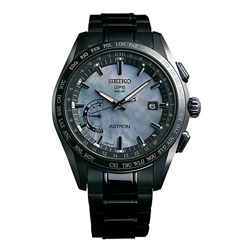 Mens-Seiko-Astron-GPS-Solar-World-Time-Ceramic-and-Titanium-LIMITED-EDITION-Watch-SSE091