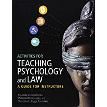 Activities for Teaching Psychology and Law: A Guide for Instructors