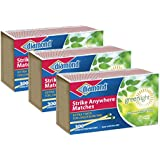 Diamond GreenLightTM Kitchen Matches - 3 Pack - 300 Matches per Pack x 3 = 900 Match (Strike anywhere)