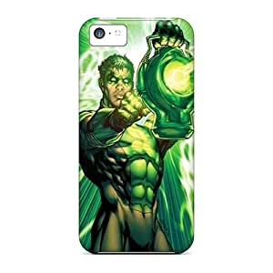Hot Fashion PJt4017eOVP Design Cases Covers For Iphone 5c Protective Cases (green Lantern I4)