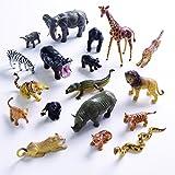 Wild Animals Figurine 18 Pieces High Quality Relastic Toys