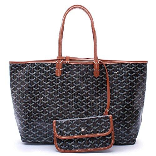 Blackbrown Shoulder Women Fashion Agote Shipping Set Bag Tote w0TAnqngp