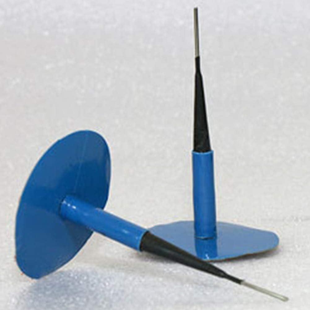 Lot de 24 Bouchons de Pneu sans Chambre /à air pour r/éparation de crevaison de Pneu avec Fil 4 mm Bleu