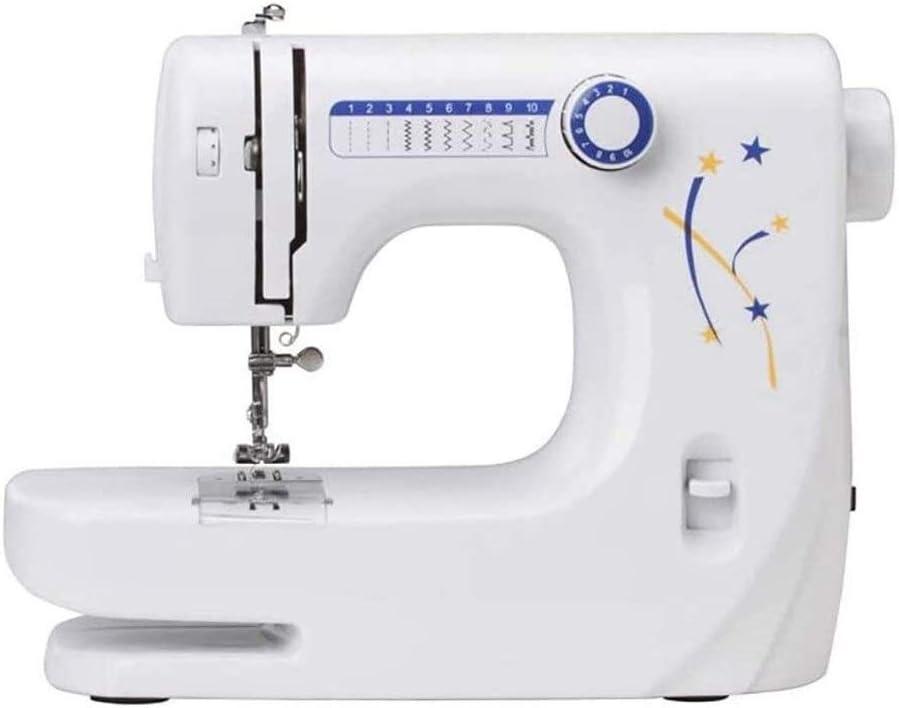 Máquina de coser, Diez-aguja máquina de coser, de múltiples funciones de la máquina de coser, enhebrador automático Y brazo libre, el más adecuado for los principiantes máquina de coser, coser la lámp