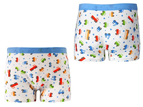 Cotton Underwear Boys Toddler Boxer Briefs Underwear Mix Color 5 Pack (AL001-XL) by CC&La Dame (Image #3)