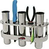 Boatmates Stainless 3 Rod Organizer For Sale