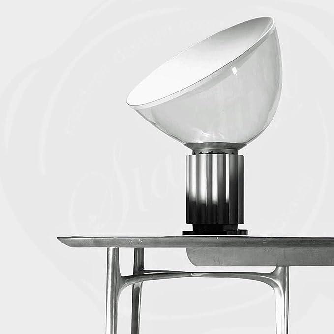 Flos Taccia Lampada Da Tavolo Argento Amazon It Illuminazione