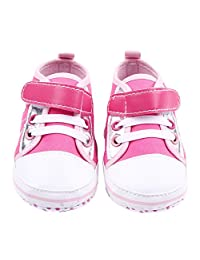 Franhais Newborn Baby Girl Boy Soft Sole Toddler Infant Sneaker Shoes Prewalker