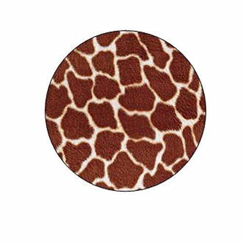 Giraffe Print Stickers - Gift Bag or Envelope Seals - Animal Theme Stationery Design - Party Favor Supplies - Set of - Stationery Animal Print