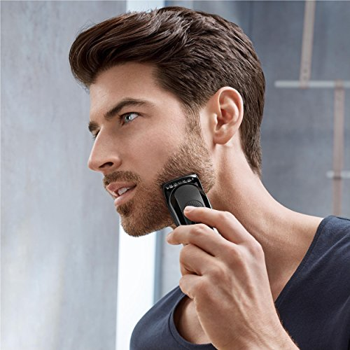 braun mgk3060 men 39 s beard trimmer for hair head trimming. Black Bedroom Furniture Sets. Home Design Ideas