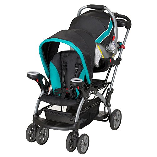 Baby Trend Sit N Stand Ultra Stroller, Tropic by Baby Trend