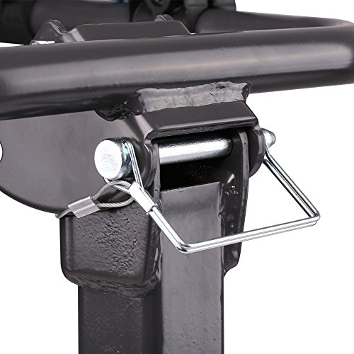IKURAM 4-Bike Hitch Mount Bicycle Rack Foldable Fit 2 Inch Hitch Receiver by IKURAM (Image #5)