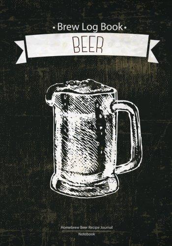 Brew Log Book - Homebrew Beer Recipe Journal : Notebook :Blue Vintage: (Bottling notes:Tasting notes :Brewing Journal And Logbook)