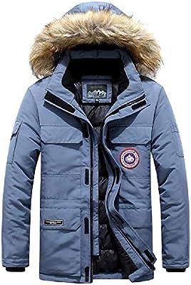 Chaqueta mitad de la longitud acolchada chaqueta de algodón cuello ...