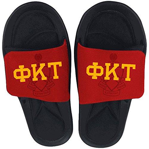 Phi Kappa Tau Slide On Sandals Multicolored asQgf3e