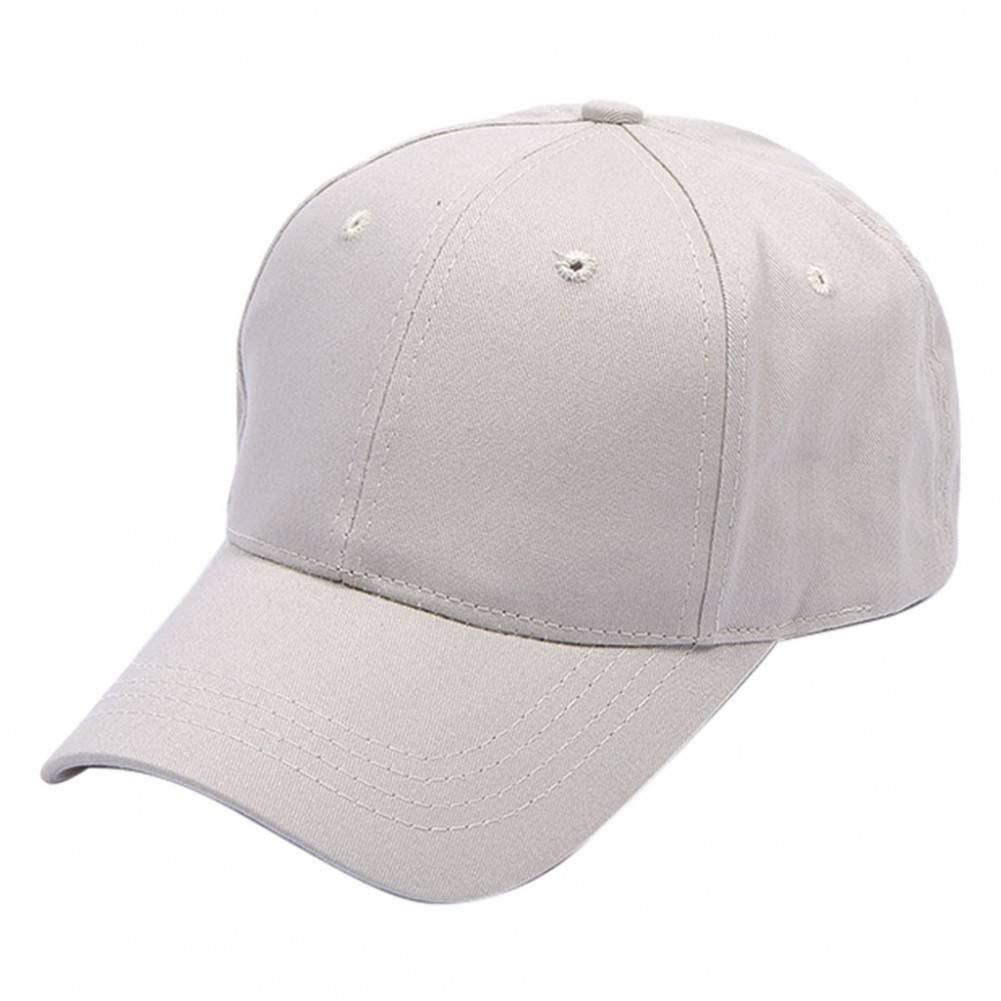 Likai Mujeres Hombres Gorras de béisbol Lisas básicas Sombrero de ...