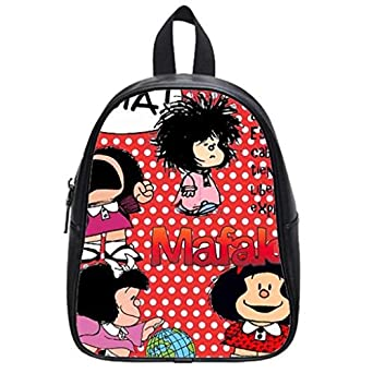 Amazon.com: Mafalda Frasi Custom School Bag Outdoor Backpack By Love
