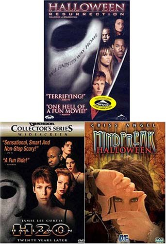Criss Angel Mindfreak/Halloween - Resurrection/Halloween H2O (3 pack) -