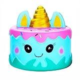 Squishies Unicorn Cake Kawaii Cartoon Food Jumbo Squishy Slow Rising Cream Scented Stress Reliever Toys