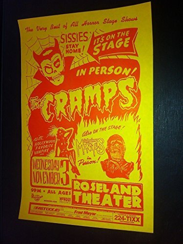 cramps-lux-interior-rare-original-no-sissies-portland-punk-flyer-concert-poster