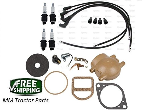 Complete Tune up kit Ford 2N 9N 8N Tractors with Front Mount Distributor from Unknown