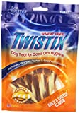 Twistix 5.5-Ounce Milk And Cheese Dental Chew Treats For Dogs, Small