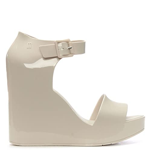 Melissa Women's Mar Wedged Sandals - Ivory - UK 3 JkZF1IK01