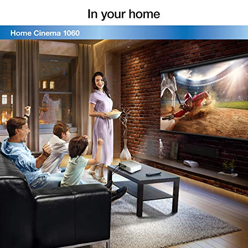 Epson Home Cinema 1060 Full HD 1080p 3,100 lumens color brightness (color light output) 3,100 lumens white brightness (white light output) 2x HDMI (1x MHL) built-in speakers 3LCD projector by Epson (Image #5)