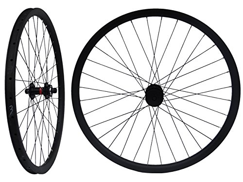 Carbon Matt 29ER Mountain Bike Clincher Wheelset 29'' MTB Bicycle Wheel Rim by flyxii