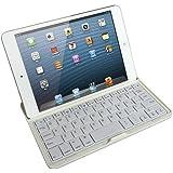 マグレックス Bluetooth キーボード アルミケース for iPad mini ( ホワイト / スタンド / MicroUSB ) MK7000-WH