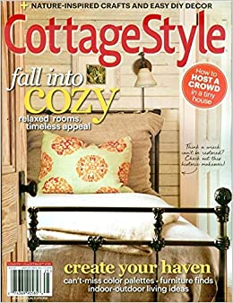 Brilliant Cottage Style Magazine 2018 Country Collectibles Fall Into Home Interior And Landscaping Palasignezvosmurscom