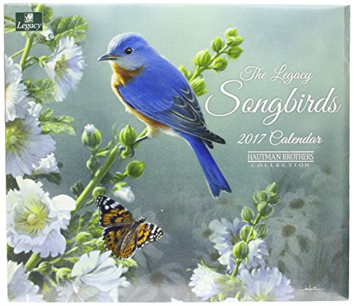 Legacy Publishing Group 2017 Wall Calendar, Songbirds